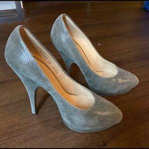 Guiseppe Zanotti gray Heels - Size 8